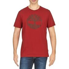Timberland Mens Tshirt Red Kennebec River Tee 8466J-876 New