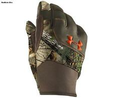 UA Under Armour Ridge Reaper Speed Freak Realtree Camo Hunting Gloves (3) Sizes
