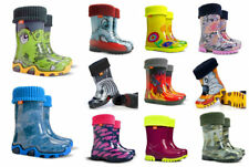 Wellington boots Wellies Rainy Boots Kids Girls Boys Warm Boots Reflective boots