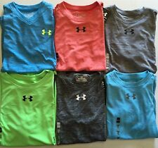 Boy's Under Armour UA Loose Fit Polyester Shirts Heat Gear Youth