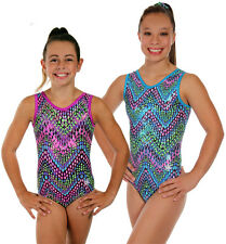 NEW!! Viper Gymnastics Leotard by Snowflake Designs - Blue or Purple