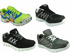 Mens Airtech Lightweight Mesh Lace Up Running Sports Fitness Gym Trainers Shoe