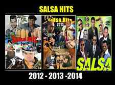 Salsa Hits  3 DVDs 100+ Music Videos  Marc Anthony Salsa Giants Victor Manuelle