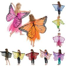 Fairy Wings Costume and Butterfly Wings Costume Pretend Play Girls Birthday Gift