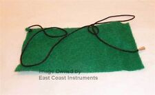 Green *NEW* Clarinet Cleaning Felt bore Swab cloth,cord for Soprano Bb (flat)
