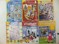 Scrapbook Idea Books - Layouts for Family Seasons Holidays School U PICK