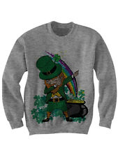 ST PATRICKS DAY GIFT DABBIN LEPRECHAUN SWEATSHIRT LEPRECHAUN COSTUME IRISH GIFTS