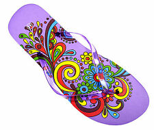OCTAVE® Ladies Summer Beach Wear Flip Flops Collection Various Styles & Colours