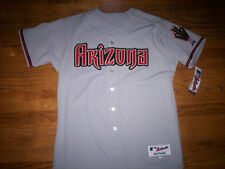 ARIZONA DIAMONDBACKS NEW MLB MAJESTIC AUTHENTIC GAME JERSEY