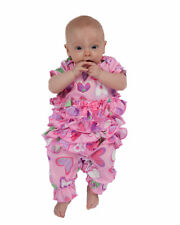 Laura Dare Heart To Heart Frilly Jumpsuit (NB - 24m)