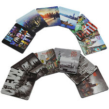 New York Photo Beer and Drink Coaster NY Souvenir NYC Gift - Pack of 6