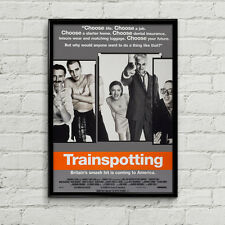Trainspotting Cult British Movie Poster High Quality Poster Print Art A1, A2+