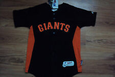 PABLO SANDOVAL SAN FRANCISCO GIANTS MLB MAJESTIC AUTHENTIC COOL BASE KIDS JERSEY