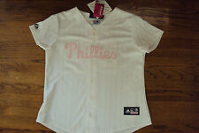 CHASE UTLEY PHILADELPHIA PHILLIES NEW MLB WOMEN'S MAJESTIC OFFICIAL JERSEY