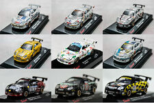 Saico DIECAST 1:72 99/00/01/02 Porsche 911 GT3R Car White / Black / Yellow Model
