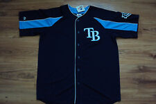 TAMPA BAY RAYS NEW MLB MAJESTIC DOUBLE PLAY JERSEY