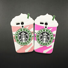 3D Starbucks Coffee Cup Soft Silicone Case Back cover Skin for Motorola Moto G