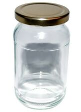 56 x 1lb Jam Jar, pickles, chutney cocktails glass jar with choice of lids
