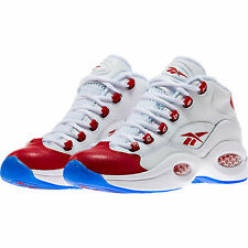 Reebok Question Mid PEARLIZED RED Toe White Allen Iverson J98948 OG 20t (YOUTH)