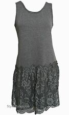 NWT Pretty Angel Clothing Maude Shirt Extender - Dress In Gray S M L XL 62796