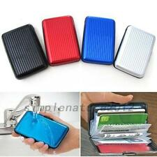 Women's Men's Coin Purse Checkbook Bank Credit ID Card Holder Clip Mini Wallets