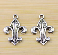 30/60/100 pcs wholesale:very beautiful Tibet silver charm pendant 25x18 mm
