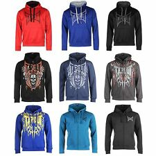 TAPOUT Mens Jacket Hoodie Jumper MMA Training Casual Top