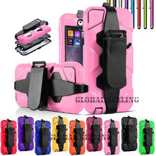 For iPod Touch 5th/Touch 6th Shockproof Rugged Rubber Holster Hard Case Cover