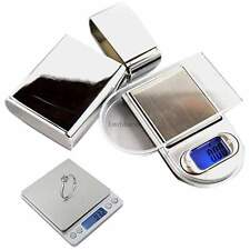 Pro.0.01g Precision Digital Pocket Scale Jewelry Weight Counting Scale ship fast