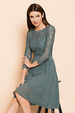 NEW EziBuy Grace Hill Lace Bodice Dress