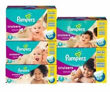 Pampers Cruisers Diapers Size 3 4 5 6 7 Economy Pack (Pick Count Your Baby)