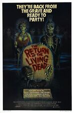 RETURN OF THE LIVING DEAD Movie Silk Poster Horror Night Dawn Day Undead Zombies