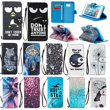 1 X Cute Pattern Magnet Wallet Flip Stand PU Leather Case For Sony Experia Z5