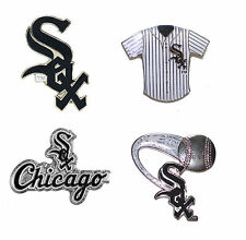 """Chicago White Sox Lapel Pin About 1"""" High MLB Baseball Licensed Choose Design"""