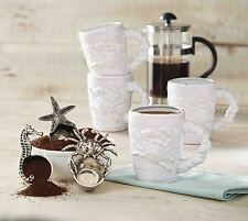 Mud Pie Classic Crab Kitchen Dining Dimensional Sea Life Coffee Scoops 4641001