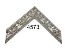 """Custom Picture Frame-1 1/2"""" Silver Ornate Frame, Any size, Classic profile"""