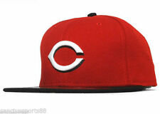 ROAD NEW ERA CINCINNATI REDS 59FIFTY FITTED CAPS MLB AC ON FIELD HATS CAP
