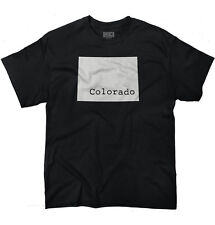 Colorado State Shirt State Pride USA T Novelty Gift Ideas T-Shirt Tee