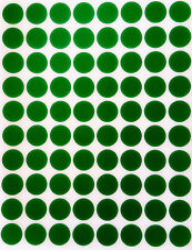 """Round 13mm stickers 0.5"""" 10 colors 1200 pack half inch dots color coding labels"""