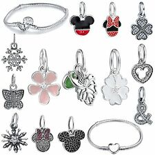 Popular New Necklace Pendant 925 Silver European Bead Brand Charm Bracelet Chain