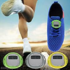LCD Pedometer Step Counter Hiking Walking Jogging Running Distance Fitness Gift