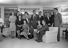 Art print POSTER / Canvas Kennedy Family in Hyannisport Home