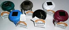 """LANTERN SOLAR LIGHTS  Assorted Colors  """"No Wiring""""  Up To 8 Hours of Light"""