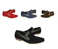 New Mens Italian Loafers Mocasins Casual Smart Slip Ons Shoes UK 6-12