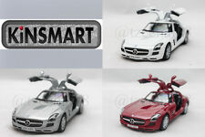 KINSMART 1:36 DIECAST Mercedes-Benz SLS AMG Coupé Car Red / Silver / White new