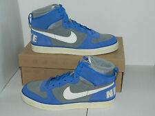 Nike Big Nike High Ac Blue/Grey Hi Top Men's Trainers Shoes UK- 7_7.5