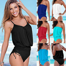 Women Sexy One-piece Bandage Bikini Monokini Swimwear Swimsuit Bathing Beachwear
