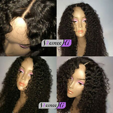 "Small Malaysia Curly full/front lace wig 12""-22"" Curly human hair wig baby hairs"