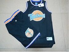Sets Space Jam Jersey +Shorts 23 Jordan Squad Bunny Taz Bill Bugs Lola Black
