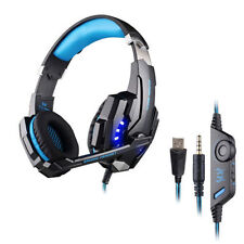 3.5mm Noise Cance Stereo Gaming LED Over-Ear Headphone Headset for PC PS4